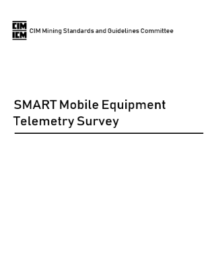 CIM SMART Mobile Equipment Telemetry Survey