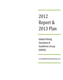 GMG Annual Report Cover 2012