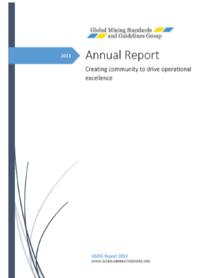 GMG Annual Report Cover 2013