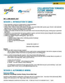 GMSG Perth Forum Report Cover 2017