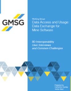 GMG 3D Data Exchange Report Cover