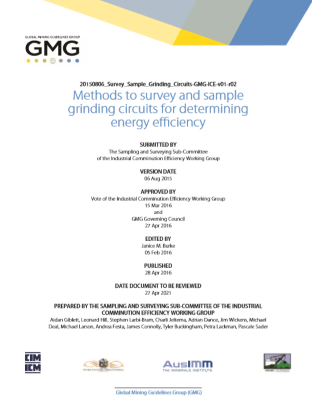 GMG Guideline Surveying and Sampling