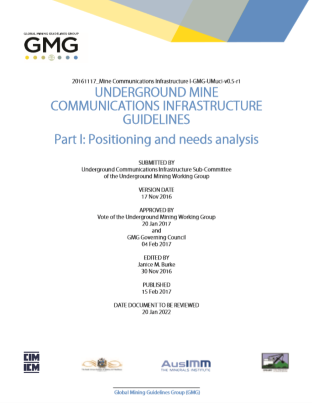 GMG Guideline Mine Communications