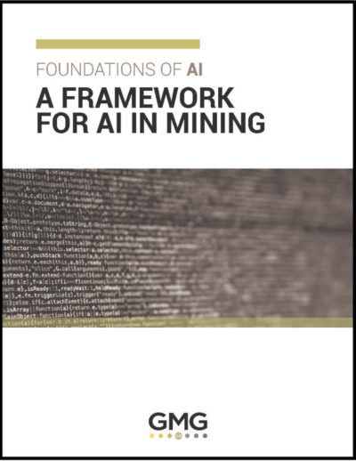Artificial intelligence in mining