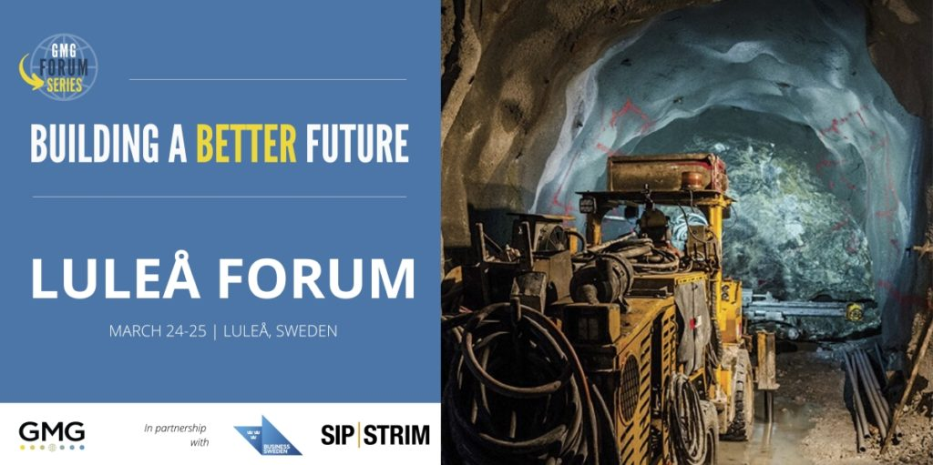 Global Mining Guidelines Group's forum in Luleå